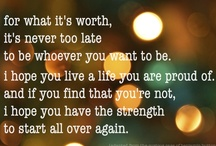 Quotes / by Tammy Cooper