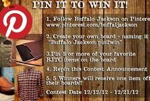 Buffalo Jackson Pin2Win / by Bobby Dieterle