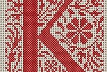 cross stitch/needlework / by Kris Fisher
