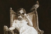 Macabre --> having a grim or ghastly atmosphere / by Carrie Johns