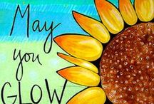 YOU ARE MY SUNSHINE  / A love for sunflowers....their uplifting faces and color...I search and pin and search and pin and hope you enjoy and are uplifted by them too.  / by Marlene Faye