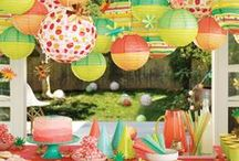 party - decor / by Heather McClure