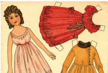 My Paper Dolls / Memories from childhood... / by Linda LaPage