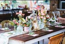 Wedding - Tablescapes / by Adriana Mattos