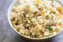 """Side Dishes  - Rice, Couscous, Quinoa & Stuffing / by Jamie @ Love Bakes Good Cakes"