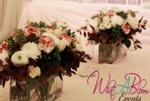 Flowers Wedding / by WHAT A BLOOM Florist in Canada