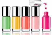 A Different Nail Enamel /  NEW A Different Nail Enamel. Glossy, long-wearing colour available in an array of pretty shades. Allergy tested and safe to use for sensitive skins, helps reduce the chances that eyes will burn, itch or water with contact.  / by Clinique UK