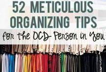 Organization 101 / by Karen Garcia