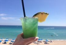 Seaside Sips / From The Lorena Margarita to our ever popular Piña Coladas, our cocktails don't just taste delicious...they make a statement! (And at a beach resort, what better accessory to have then the perfect beachside beverage?) #CocktailSelfie / by Trump International Beach Resort