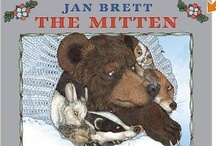 {Book Theme} The Mitten / Activities, worksheets, crafts, ideas, games, etc. that center around the book THE MITTEN / by Heather Mix
