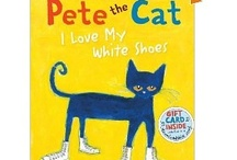 {Book Theme} Pete the Cat series / Activities, worksheets, crafts, ideas, games, etc. that center around the books of PETE THE CAT / by Heather Mix