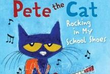 Pete the Cat / Pete the Cat, Children's book character / by Leah Ayers