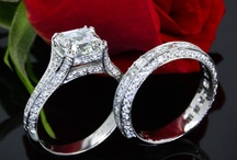 Engagement Ring Sets / Engagement Ring Sets that make my heart a flutter. Classic and traditional is the concept of the engagement ring with matching wedding band. Diamond wedding sets are todays standard for modern brides. http://bit.ly/vRSget / by Engagement Rings