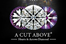 Hearts and Arrows Diamonds / Ideal Diamonds with Hearts and Arrows patterning have the greatest potential for fire, brilliance and sparkle.  The hearts and arrows pattern indicates a very high level of optical symmetry and cutting precision.  The A CUT ABOVE® Hearts and Arrows Diamonds are considered by experts and fans around the world to be the proven Super Ideal, and they are available exclusively at Whiteflash.  http://bit.ly/LDSZix / by Engagement Rings