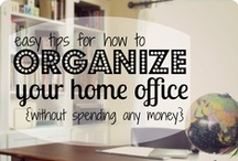 Organize Me, Please! / Home organization and storage ideas / by Cheryl Lambert