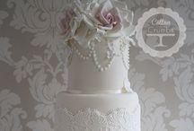 Wedding Cake / Beautiful wedding cakery / by Vintage Teatime