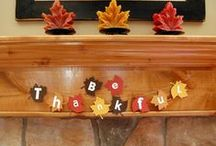 Thanksgiving Crafts / Things I want to try to make this November / by Sara Banister