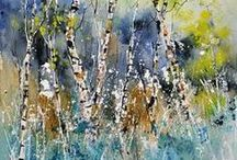 Art / oil paintings and watercolors / by Pol Ledent
