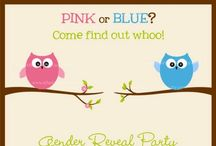 Itty Bitty- Gender Reveal / Ideas for gender reveal parties! / by Katelyn Saucier