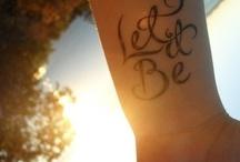 tattoos / by Amanda Aasland