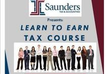 Tax Course / We offer a 12 week comprehensive tax course.  Come join us! / by Saunders Tax & Accounting