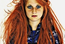 pro red / ginger hair / I'm interested in red hair (ginger?) as a PR issue. It's got such a strong heritage (celtic?), looks fabulous, yet people with it are pushed down. I want to start a pro ginger PR campaign. / by John Allsopp