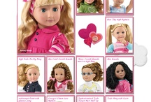 American Girl Doll stuff / by Sue Nabours