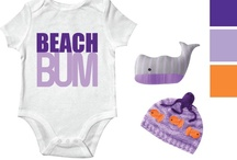 Ocean Fun - Design A Doll Outfit Option 4 / The Ocean Fun ensemble includes a onesie, a jacket, hat, socks, blanket, bib and toy all based on a sunshine, mommy loves baby theme. *Note: some items, colors and graphics may change in final production. / by Paradise Galleries