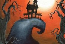 Halloweenie! Let's have some fun! / Halloween decorations and treats! / by Intuitive Medium