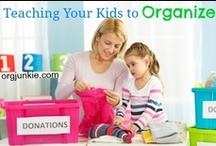 Organized Kid Stuff / by Laura (I'm an Organizing Junkie)