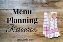 Menu Plan Monday / I'm an Organizing Junkie is host to the weekly Menu Plan Monday carnival. / by Laura (I'm an Organizing Junkie)