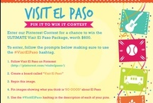 National Travel & Tourism Week  / The El Paso Convention and Visitors Bureau proudly celebrates National Travel and Tourism Week from May 5-12.  This board features a taste of the attractions, culture and real adventures that can be found in El Paso. / by Visit El Paso