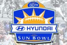 Hyundai Sun Bowl  / The Hyundai Sun Bowl is one of El Paso's largest annual events and is presented by the Sun Bowl Association! In addition to the big game on the 31st, the Association also hosts an All America Golf Classic, a Basketball Tournament, Soccer Tournament, Parade and Fan Fiesta!  / by Visit El Paso
