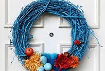 DIY Wreath / DIY wreath inspiration, tutorials and awesome Etsy finds / by urbansleekblonde