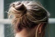 "Brush it. / Gimme head with hair. Long beautiful hair Shining, gleaming, treaming, flaxen, waxen.  - Hair Musical, ""Hair"" / by Melanie Kwong"
