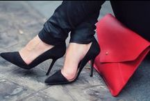 Kicking It. / Shoes. Oh my god, shoes.  / by Melanie Kwong