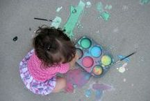 PLAY RECIPES / Here you will find recipes for paint, play dough, and other DIY projects for kids. / by Brittany @ Love, Play, Learn