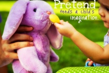 Pretend Play Ideas for Children / Wonderful pretend play ideas and resources  / by Brittany @ Love, Play, Learn