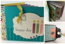 Books & Mini-albums  / Handcrafted mini albums, books, booklets and folders of all sorts / by Margaret Raburn