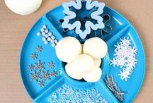 WINTER ACTIVITIES / Winter art and craft ideas for kids, winter activities for kids, snowman crafts, snowflake crafts, and more! / by Brittany @ Love, Play, Learn