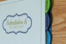 Household Management Binder / by Melody of This Beautiful Frugal Life