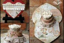Sizzix Pop -up Cake Die / by Karen Burniston