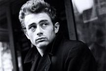 James Dean / I can't belive how you slurred at me  with your half wired broken jaw,  In your tight jeans, with your long hair and your cigarrette stained lies, boy you've left me speechless, speechless / by Fabiola Meza