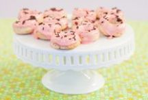 DIY Doughnuts / Make delicious doughnuts – in your oven! Our easy-to-use doughnut mold makes it simple and fun to bake the healthier version of this classic treat with less fat and fewer calories than fried doughnuts.  / by Epicure
