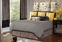 Rowley Bedroom Roomscape / Rowley Company Creates an Inviting, Modern Bedroom / by Rowley Company