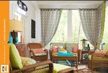 Rowley Veranda Living Roomscape / Transform Ordinary Outdoor Living Spaces into an Open Air Veranda / by Rowley Company