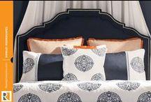 Stylish Upholstered Headboards / by Rowley Company