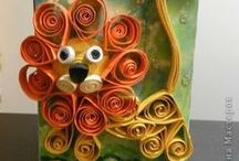 Quilling / Paper Curling Masterpieces! / by Stephanie Seretis