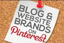 BLOG AND WEBSITE BRANDS ON PINTEREST / by Power of Pinterest Book