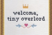 Because I do x stitch too. / by Julie Hirshey